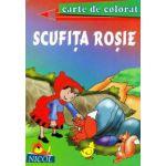 Scufita rosie - Carte de citit si colorat