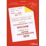Bacalaureat biologie 2010 clasele IX-X - Gimnasium
