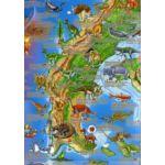 Harta lumii preistorice
