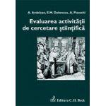 Evaluarea activitatii de cercetare stiintifica