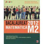 Bacalaureat 2012 matematica M2