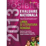 Evaluare nationala 2013 - Limba si literatura romana