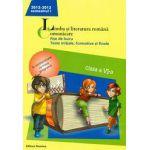Limba si literatura romana. Comunicare. Fise de lucru, teste initiale, formative si finale. Clasa a VI-a, semestrul I (2012-2013)