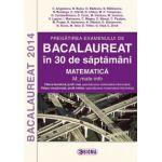 Bacalaureat 2014. Matematica - Filiera teoretica, profil real, specializarea matematica-informatica