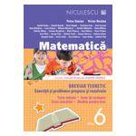 Matematică clasa a VI-a. Breviar teoretic cu exerciţii şi probleme propuse şi rezolvate. Teste iniţiale. Teste de evaluare. Teste sumative. Modele de teste