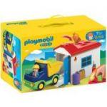 Playmobil 1. 2. 3 - Camion Cu Garaj