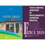 Set admitere UMF Carol Davila-Fizica+Biologie(ed. 2019)