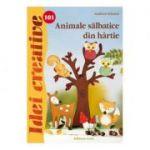 Idei creative 101 -Animale salbatice din hartie