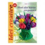 Idei creative 65 - Flori din hartie creponata
