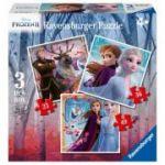 Frozen II - Puzzle 3in1 (25/36/49 piese)