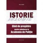 Istorie | Ghid de pregatire pentru admiterea la Academia de Politie