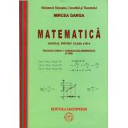 Mircea Ganga-Matematica - manual pentru clasa a XI-a (trunchi comun si curriculum diferentiat) (3 ore)