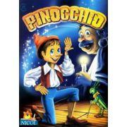 Pinocchio - Carte de citit si colorat
