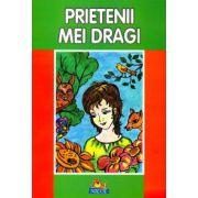 Prietenii mei dragi - Carte de citit si colorat