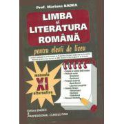 Limba si literatura romana pentru elevii de liceu. Clasa a XI-a. Badea
