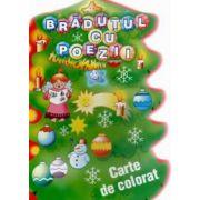 Bradutul cu poezii (carte de colorat)