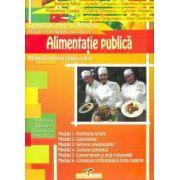 Alimentatie publica. Manual pentru clasa a X-a