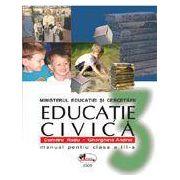 Educatie civica. Manual clasa a III-a - Radu