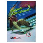 Deutsch International !  Manual de limba germana pentru clasa a IX-a. (Limba a treia, anul I de studiu)