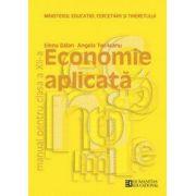 Economie aplicata. Manual pentru clasa a XII-a si a XIII-a