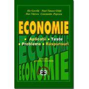 Economie - Aplicatii, teste, probleme, raspunsuri Ed. V
