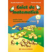 Caiet de matematica pentru toate manualele alternative. Clasa I