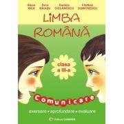 Limba romana. Clasa a III-a. Comunicare