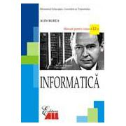 Informatica. Manual pentru clasa a XII-a. Burta