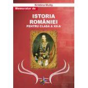 Memorator de Istoria Romaniei pentru clasa a XII a