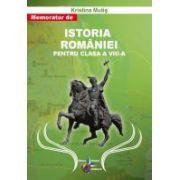 Memorator de Istoria Romaniei pentru clasa a VIII a