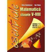 Matematica - formule utile pentru elevii claselor V-VIII