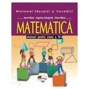 Matematica. Manual pentru clasa a IV-a - Maior