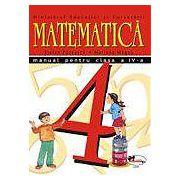 Matematica. Manual pentru clasa a IV-a - Pacearca