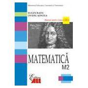 Matematica. Manual pentru clasa a XII-a M2.