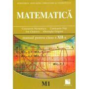 Matematică (M1). Manual pentru clasa a XII-a