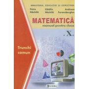 Matematica. Manual TC -Cl. a X-a