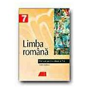 Limba si literatura romana. Manual pentru clasa a VII-a. Vasilescu