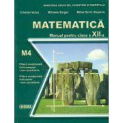 Matematica. Manual -M4 Cl. a XII-a