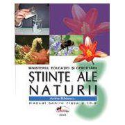 Stiinte ale naturii. Manual pentru clasa a III-a - Badescu
