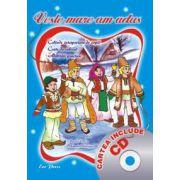 Veste mare am adus (colinde interpretate de copii, carte de colorat, abilitati practice) (cartea include CD)