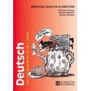 Limba germana. Manual pentru clasa a VII-a. Deutsch.