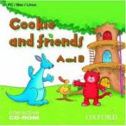 Cookie and friends A and B CD-ROM