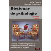Dictionar de psihologie vol. 6