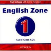 English Zone Level 1 Class Audio CDs (2)