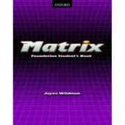 Matrix Foundation Student's Book