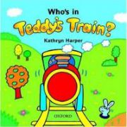 Teddy's Train Who's in Teddy's Train? Storybook