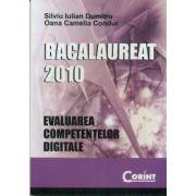Bacalaureat 2010 - evaluarea competentelor digitale