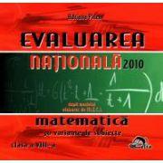 Evaluare nationala - matematica 2010