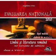 Evaluare nationala - Limba romana 2010