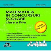 Matematica în concursuri şcolare - cl. a IV-a